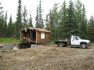 Moving Mini Cabin