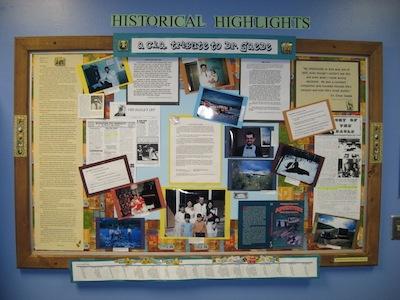 Display at Cook Inlet Academy